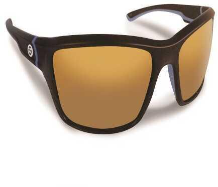 Flying Fisherman Cove Matte Tobacco w/Amber Lens Sunglasses 7721TA