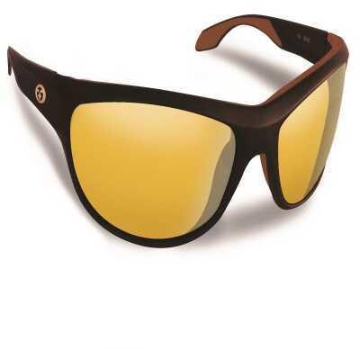 Flying Fisherman Cayo Matte Bronze w/Yellow Amber Sunglasses 7824BY