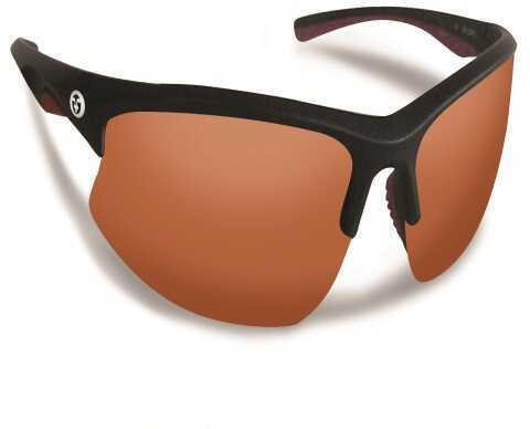 Flying Fisherman Drift Matte Black Frame w/Copper Sunglasses 7828BA