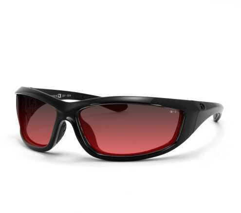 Bobster Eyewear Bobster Charger Ansi Z87 Sunglass-Black Frame/Rose Lenses