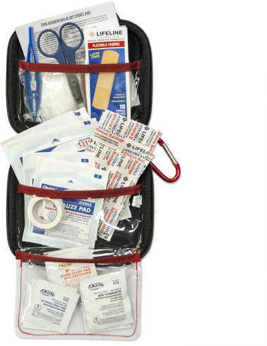 Lifeline Med Hard Shell Foam First Aid Emergency Kit 53Units