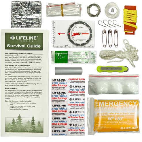 Lifeline Essential Ultralight Survival Kit 29 Pieces