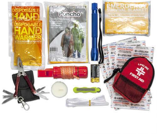 Lifeline Ultimate Survival Water Bottle Kit 34 Pieces