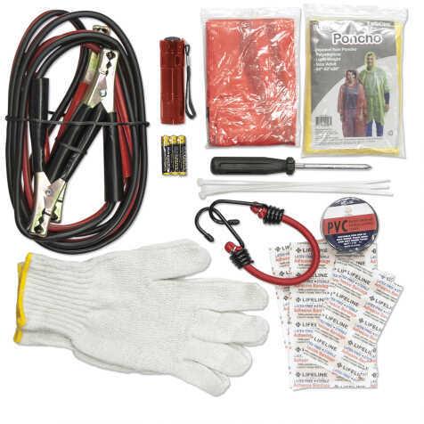 Lifeline Emergency Roadside Kit 35 Pieces