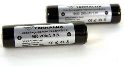 TerraLUX 18650 Rechargeable Li-ion Batteries