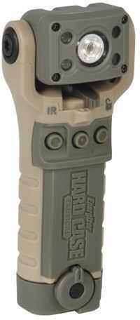 Energizer Hard Case Bravo 2AA 80 Lumen LED Swivel Light, Tan Md: BTINR