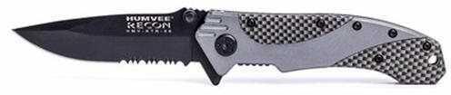 Humvee Black Recon VI (6) Folding Knife Md: HMV-KTR-06