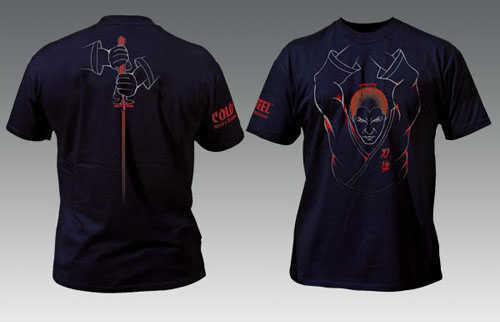 Cold Steel Samurai Tee Shirt - Medium