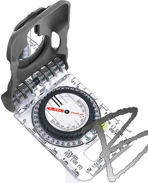 Brunton TruArc20 Mirror Compass, Rare Earth Global Needle MN# F-TRUARC20