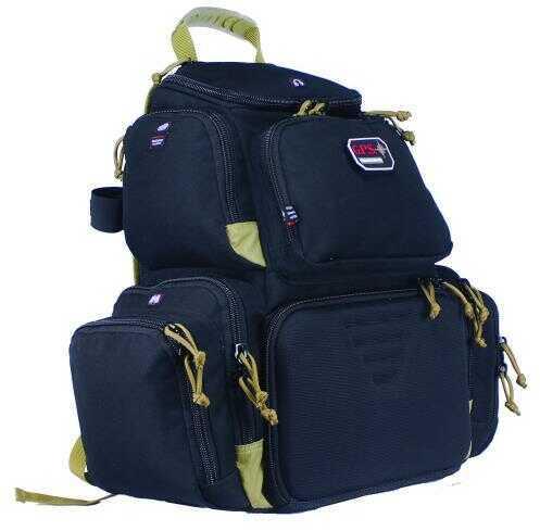 G Outdoors Inc. G.p.s. Handgunner Backpack Black/tan