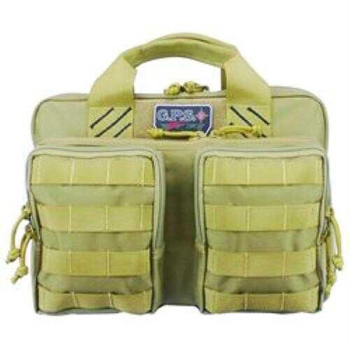 G Outdoors Inc. G.P.S. Tactical Quad + 2 Pistol Case, Tan