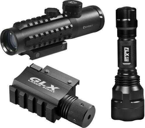 Barska Optics Barska 4x30 IR Electro Sight With Green Laser and Flashlight DA12188