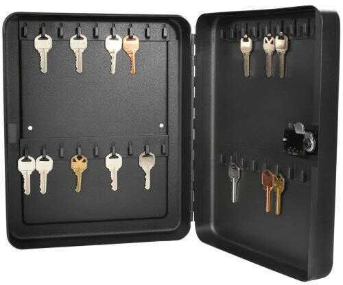 Barska Optics Barska 36 Position Key Lock Box With Combination Lock Black AX11820