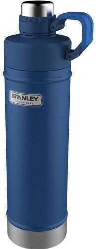 Stanley Classic 18oz. Vacuum Water Bottle-hammertone Cobalt