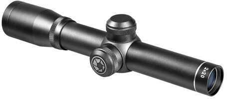 Barska Optics Barska 2X20 Compact Contour Scope-Black Matte