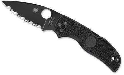 Spyderco Native 5 Lightweight-3.1in Black Blde-CombinationEdge