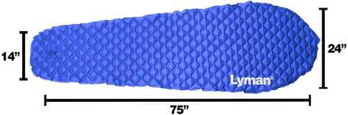 Lyman Lightweight Luxury Camping Mat Blue