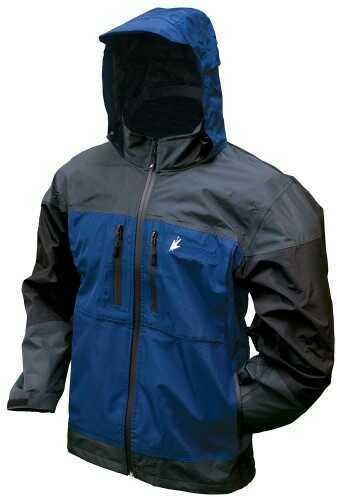 Frogg Toggs Toadz Anura Jacket Dust Blue/Slate/Black Large NT65120-12277LG