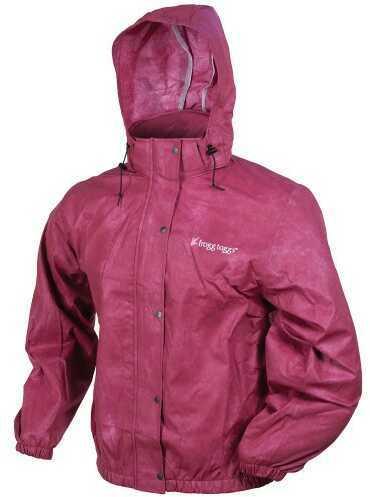 Frogg Toggs Pro Action Jacket Ladies Cherry XXLarge PA63522-15XX