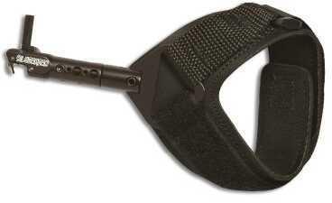 Scotty Scott Silverhorn Release-Hook/Loop Strap-Black 4003S