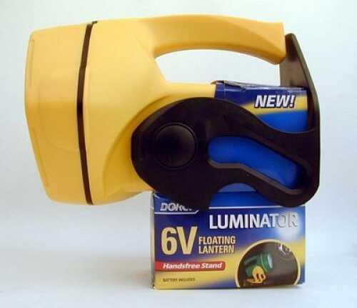 Dorcy Rubber 46 Lumen Lantern With 6 Volt Heavy Duty Battery, Yellow Md: 41-2905