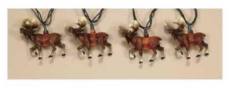 Rivers Edge Products Rivers Edge 10 Pc Moose Light Set 421