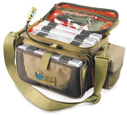 Wild River Tackle Tek Mission Lighted Tackle Bag 4 Trays