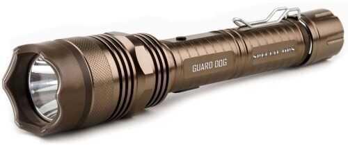Guard Dog Security Guard Dog Special Ops Tactical Flashlight Concealed Stun Gun, Bronze
