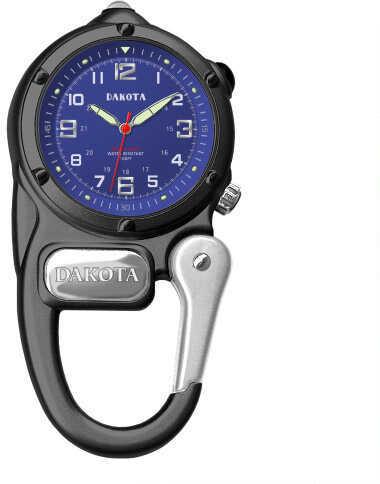 Dakota Watch Company Black Mini Clip Microlight Watch