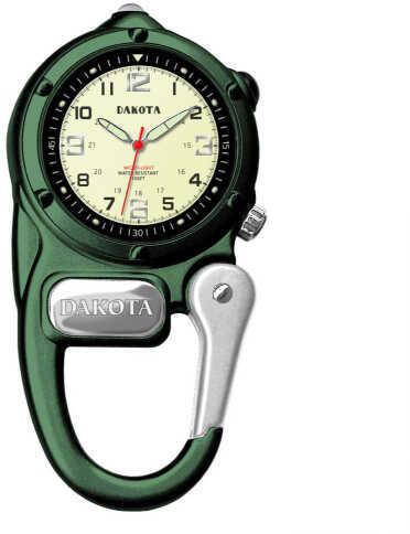 Dakota Watch Company Green Mini Clip Microlight Watch