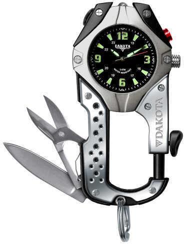 Dakota Watch Company Black Knife Clip Watch