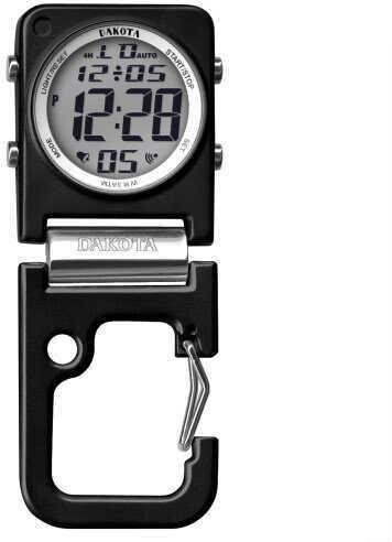 Dakota Watch Company Black Clip Clock Watch