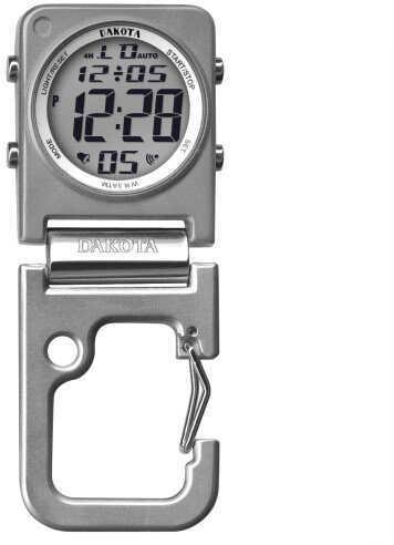 Dakota Watch Company Silver Clip Clock Watch