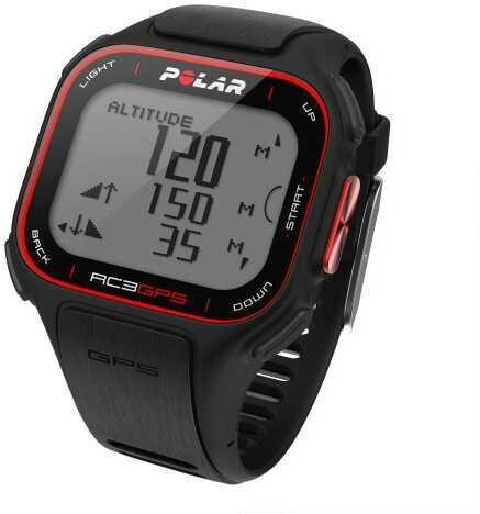 Polar Electro Polar Rc3 GPS Enabled Sports Watch Black