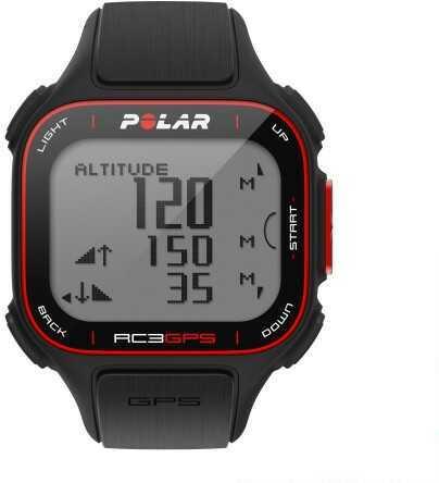 Polar Electro Polar Rc3 GPS Heart Rate Monitor Sports Watch Black