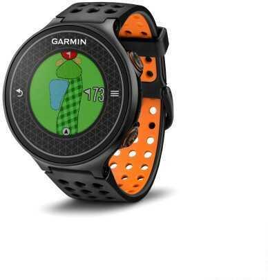 Garmin Approach S6 GPS Golf Watch Black/Orange 010-01195-02