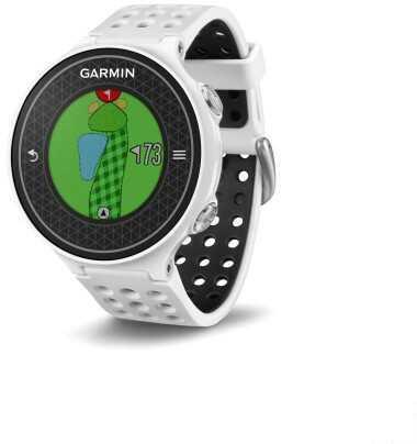 Garmin Approach S6 GPS Golf Watch Black/White Md: 010-01195-01