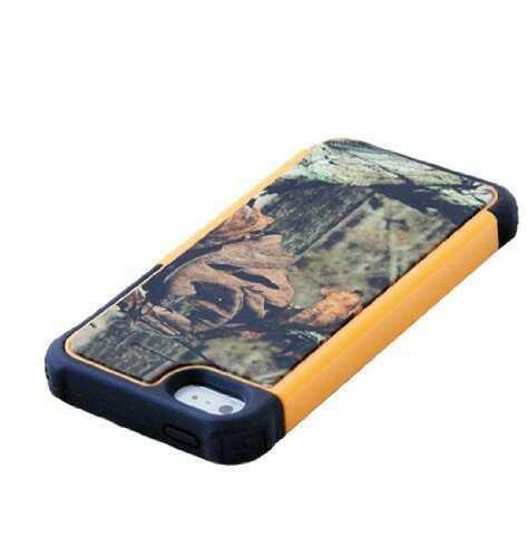 Fuse iPhone 5S/5 Heavy Duty Case, Mossy Oak Shell Orange Md: F7479