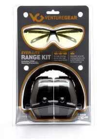 Venture Gear Ever-Lite Range Kit Amber Lens/Gray Ear Muff