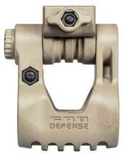 FAB Defense 10 Position Adjustable Tactical Light Mount Tan