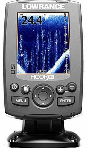 Lowrance Hook-3x Dsi Fishfinder W/xdcr 455/800 Transducer