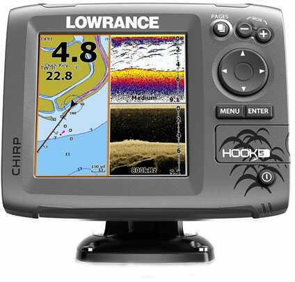 Lowrance Hook-5 Mid/High Ice Machine PPP-18i Fishfinder