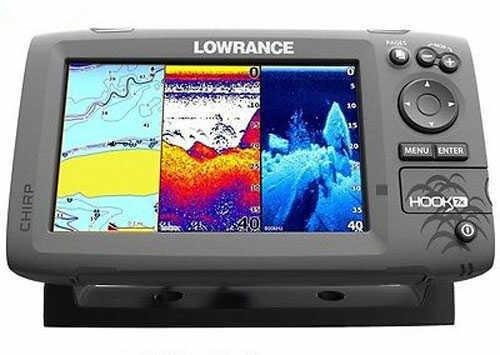 Lowrance Hook-7X Mid/High/DownScan Fishfinder