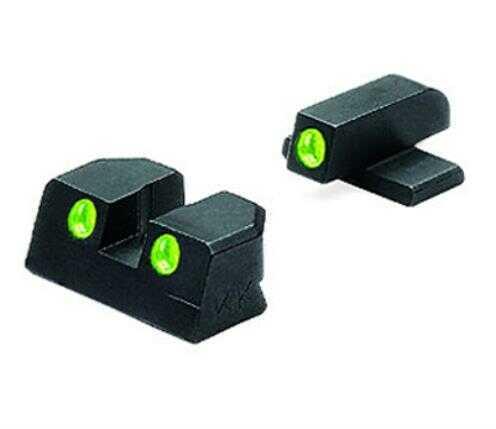 Meprolight Tru-Dot Night Sights Yellow Rear/Green Front Sig
