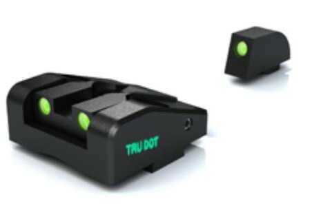 Meprolight Glock Tru-Dot Night Sight-G-26/G-27 Adj. Set Md: ML20225G