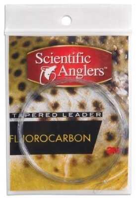 Scientific Angler / 3M Scientific Anglers Prem Fluoro Ldrs Frsh/Slt 2 Pk 9' 12# Clr