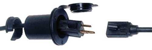 Professional Mariner Pro Mariner Universal Ac Plug Holder Black 51202