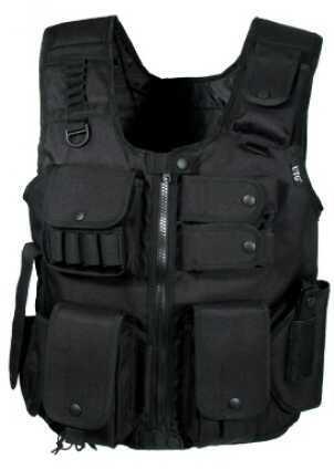 Leapers UTG Law Enforcement Tactical SWAT Vest, Black Md: PVC-V548BL
