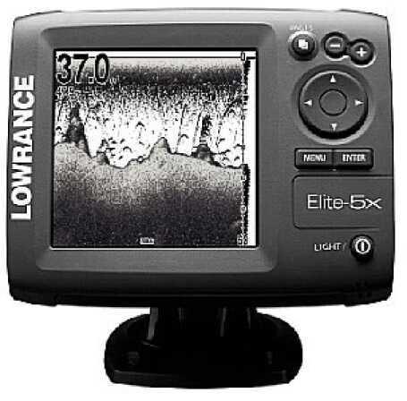 Lowrance Mark 5X Fishfinder Mono 455/800 Down Scan MN# 10233-001