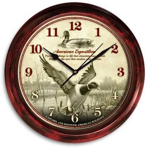 American Expedition Signature Series Clock - Mallard